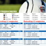 wedstrijdschema Mifa Venlo Cup 2016
